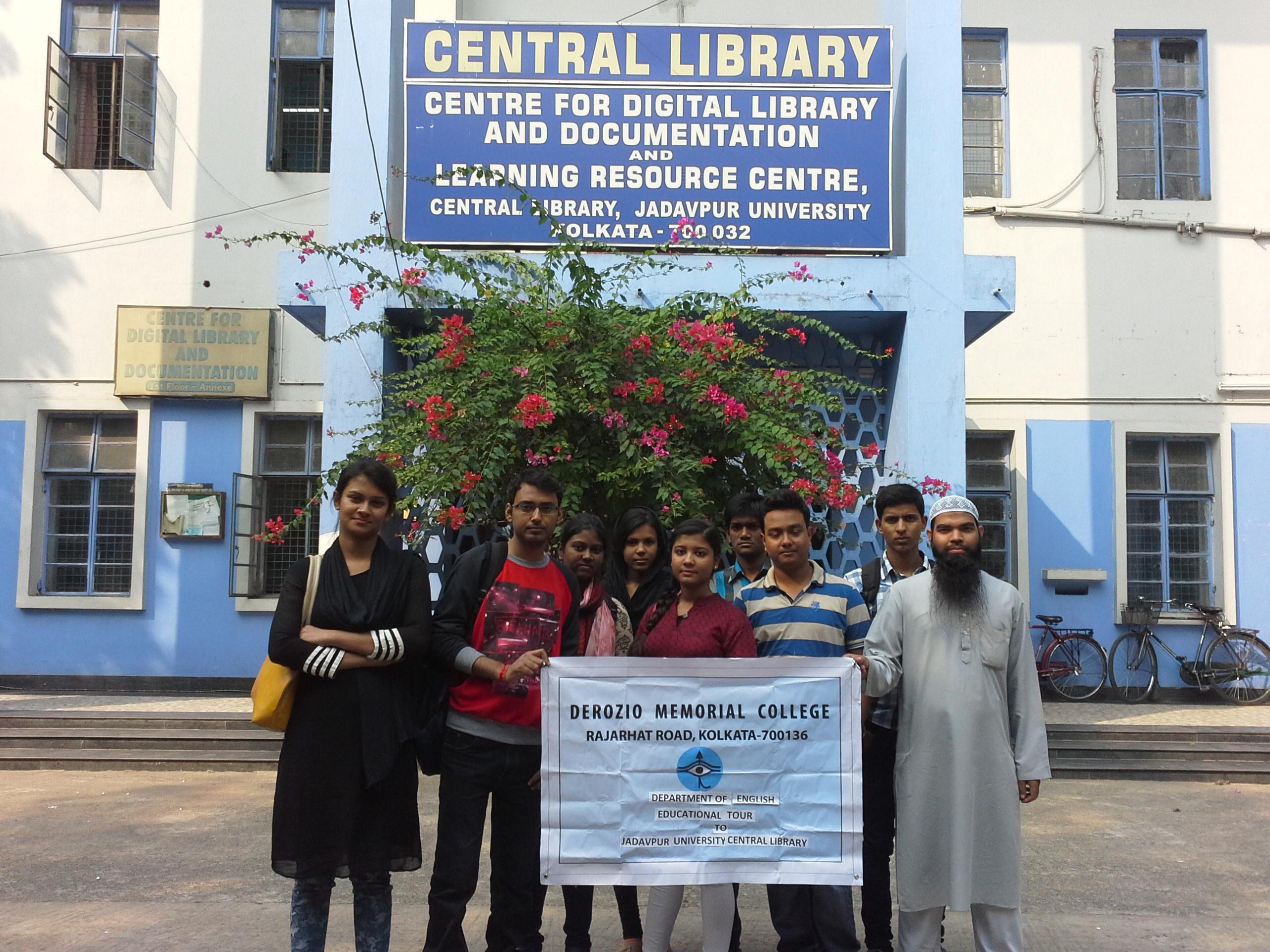 Educational Tour to Jadavpur University Central Library