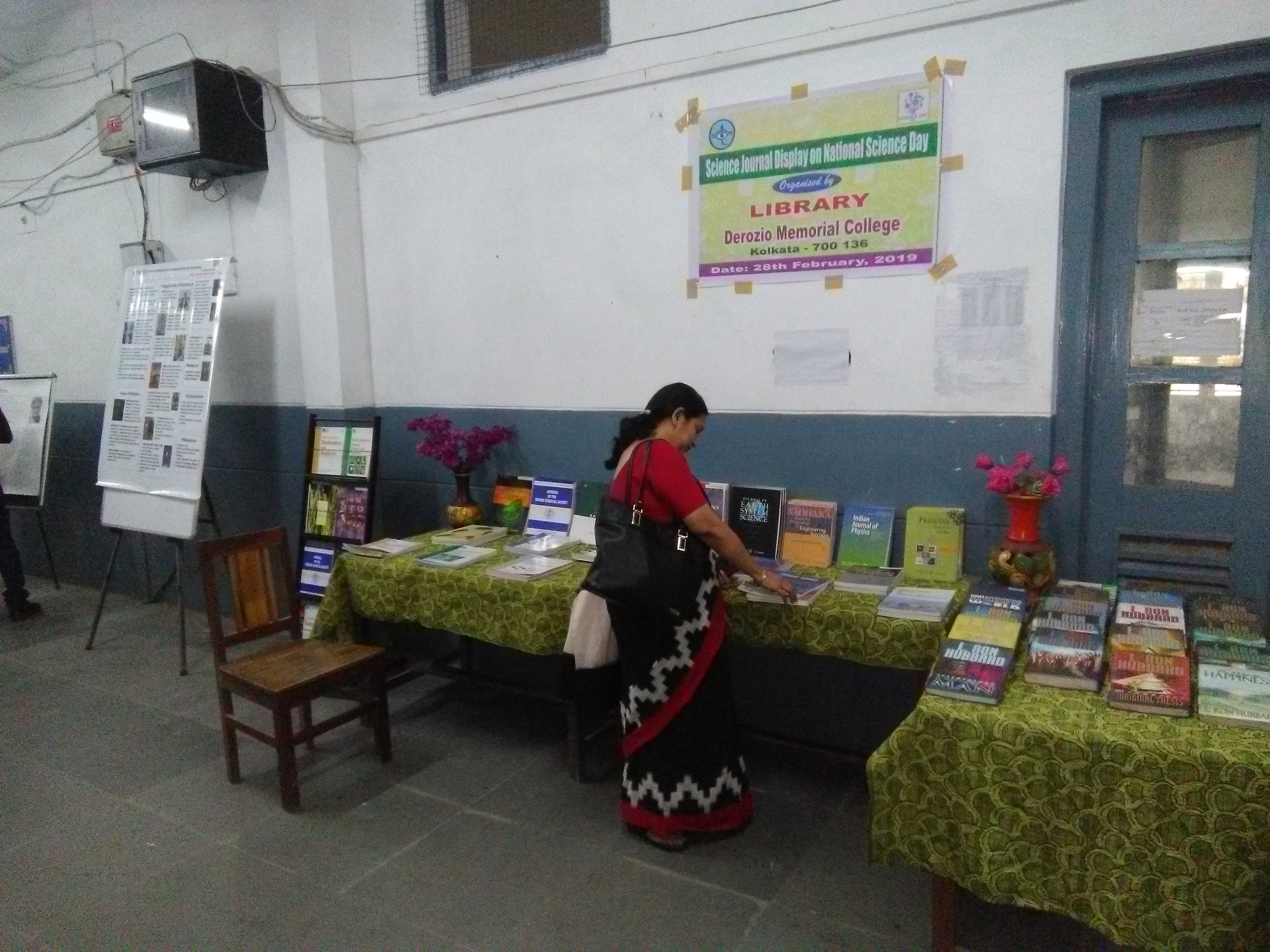 Science Books and Journal Display 2019